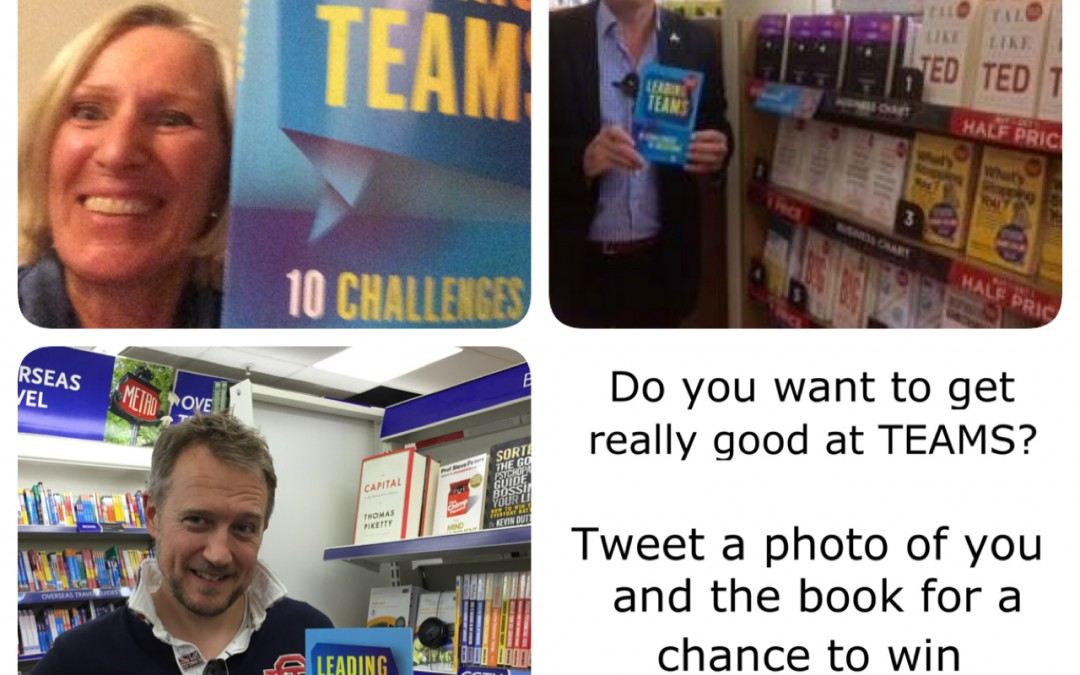 Tweet a photo of you and the book for a chance to win